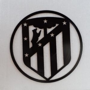 silueta disco Atletico de Madrid