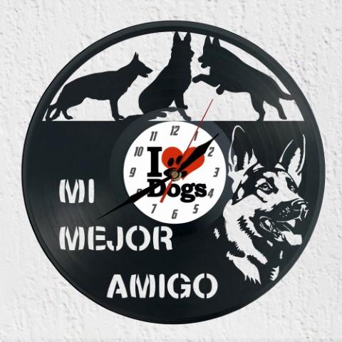 reloj Pastor aleman